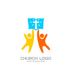 People worship the lord jesus christ vector