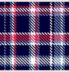 seamless checkered pattern vector image vector image