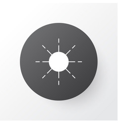Sunshine icon symbol premium quality isolated sun vector
