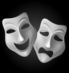 Theatre masks vector