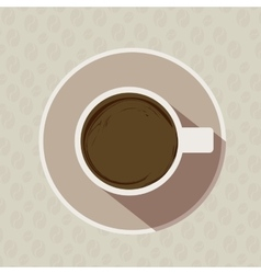 Coffe time vector image vector image