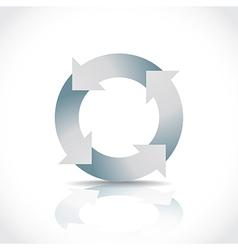 RecycleCircleAlone vector image