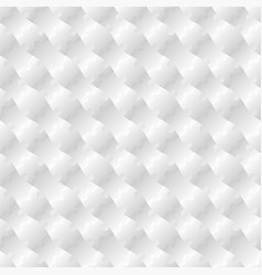 3d jigsaw tile seamless pattern white 002 vector image