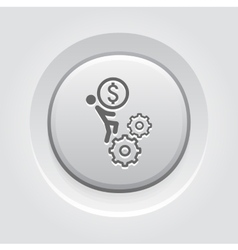 Business Mechanics Icon vector