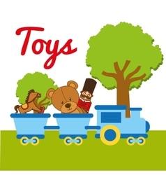 children toys vector image