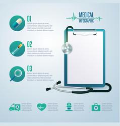 medicalinfo vector image