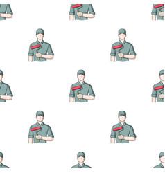 Painterprofessions single icon in cartoon style vector