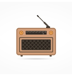 Radio Flat Icon vector