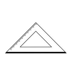 Ruler school supply icon image vector