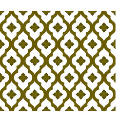seamless thai pattern vector image