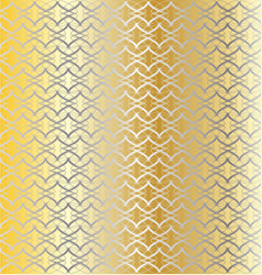 Silver and gold linked background vector