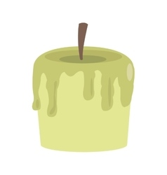 single candle icon vector image