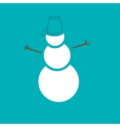 Snowmen Christmas collection vector image