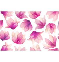 spring flower pattern vector image