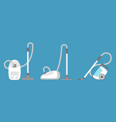 vacuum cleaner icon isolated household appliance vector image