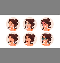 woman avatar people default placeholder vector image