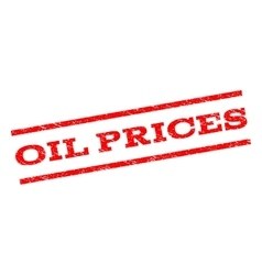 Oil Prices Watermark Stamp vector image