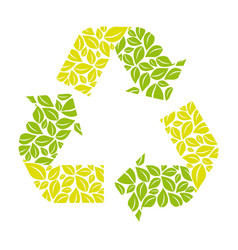 symbol reuse reduce and recycle icon vector image