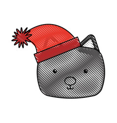 Animal cat cartoon vector