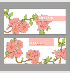Bright flowers on a light background vector