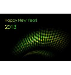 green snake background vector image