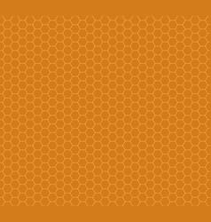 Honey combs seamless pattern vector