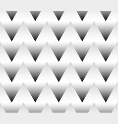 Seamlessly repeatable grayscale triangle pattern vector