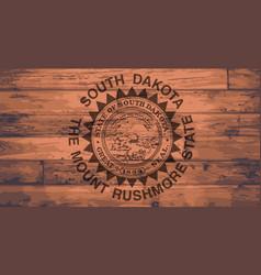 South dakota flag brand vector