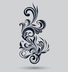 Single Floral Ornamental vector image vector image