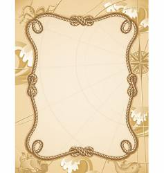 knot frame vector image vector image