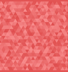 Abstract red triangle background geometric vector