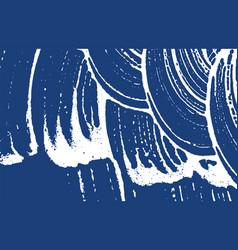 Grunge texture distress indigo rough trace encha vector