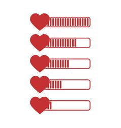 health bar vector image