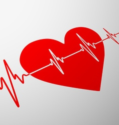 human heart Stock vector image