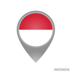 Indonesia point vector