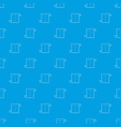 lift pattern seamless blue vector image