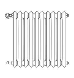 radiator vector image