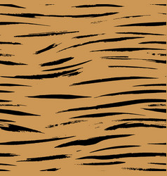 safari pattern tiger print seamless background vector image
