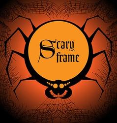 Spider frame vector image