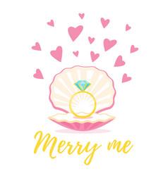 Wedding card template vector
