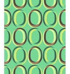 Trendy retro seamless pattern vector image