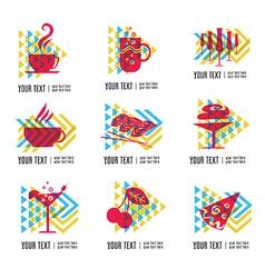 Food logo 1 vector