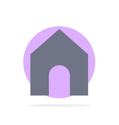 Home instagram interface abstract circle vector
