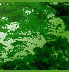 Misty forest foliage vector