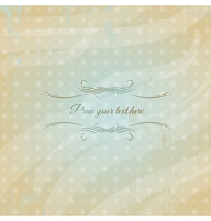 Modern background with polca dot vector