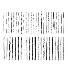sketch lines pencil marker textured doodle vector image