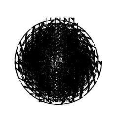 stroke spiral stamp 59 vector image