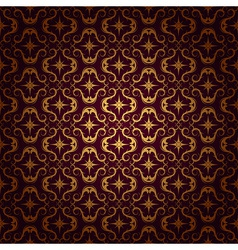 ornaments background red vector image vector image
