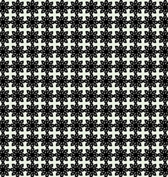 Floral Seamless Pattern Geometric Background vector image vector image