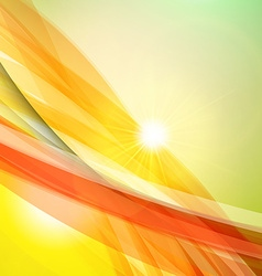 Abstract colorful background Summer background vector image